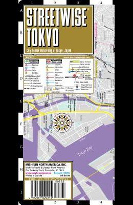 Streetwise Tokyo Map - Laminated City Center Street Map of Tokyo, Japan