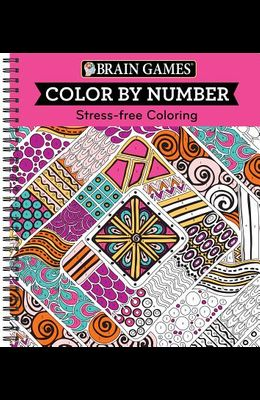Brain Games - Color by Number: Stress-Free Coloring (Pink)