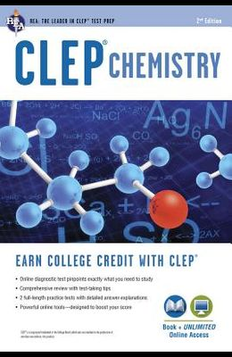 CLEP(R) Chemistry Book + Online