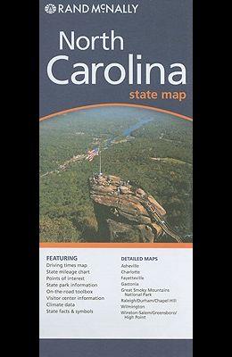 Rand McNally North Carolina State Map
