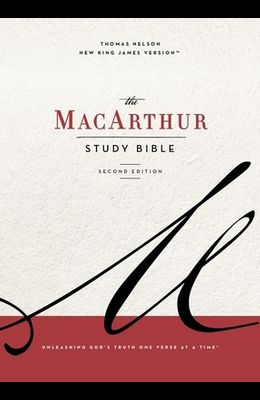 Nkjv, MacArthur Study Bible, 2nd Edition, Cloth Over Board, Blue, Comfort Print: Unleashing God's Truth One Verse at a Time