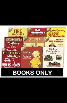 Little ACT Bk Fire Engines Replen Pack 135 Bks