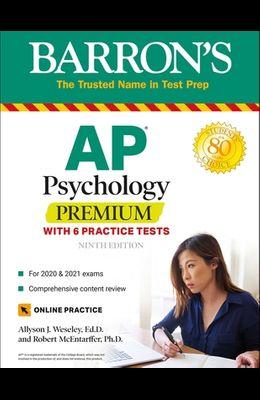 AP Psychology Premium: With 6 Practice Tests