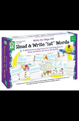 Write On/Wipe Off: Read & Write 1st Words
