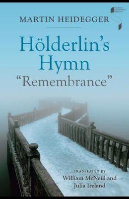 Hölderlin's Hymn Remembrance