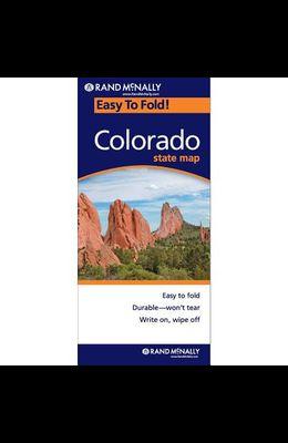 Rand McNally Easy to Fold: Colorado (Laminated Fold Map)