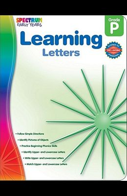 Learning Letters, Grade Pk