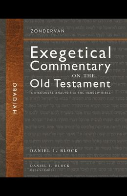 Obadiah: A Discourse Analysis of the Hebrew Bible