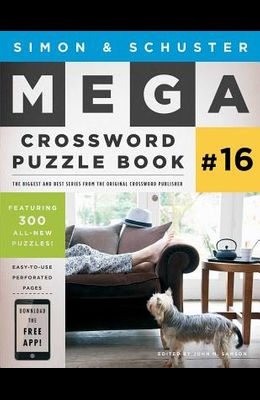 Simon & Schuster Mega Crossword Puzzle Book #16, 16