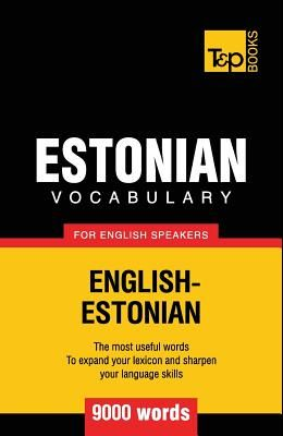 Estonian vocabulary for English speakers - 9000 words