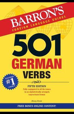 501 German Verbs [With Bonus Online Content]