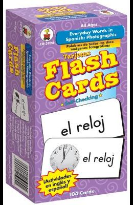 Everyday Words in Spanish: Photographic Flash Cards: Palabras de Todos Los Días: Fotográfico