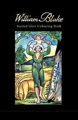 William Blake Stained Glass Colouring Book