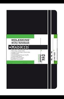 Moleskine City Notebook Madrid