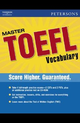 Peterson's Master TOEFL Vocabulary