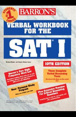 Verbal Workbook for the SAT I (Barron's SAT Critical Reading Workbook)