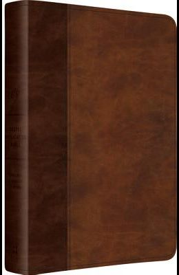 ESV Gospel Application Bible (Trutone, Brown/Saddle, Timeless Design)