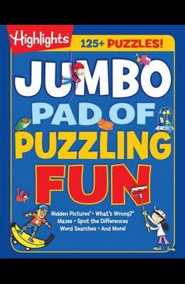 Jumbo Pad of Puzzling Fun