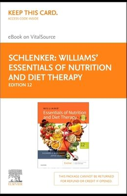 Williams' Essentials of Nutrition & Diet Therapy - Elsevier eBook on Vitalsource (Retail Access Card)