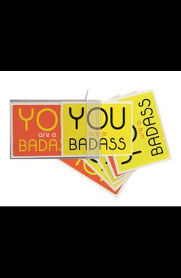You Are a Badass(r) Notecards: 10 Notecards and Envelopes