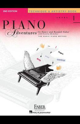 Piano Adventures, Level 1, Technique & Artistry Book