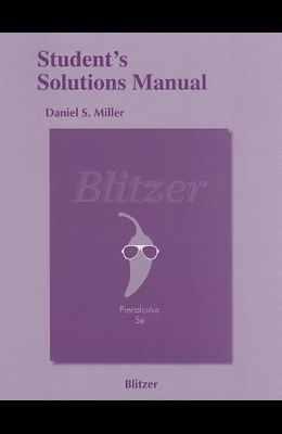 Precalculus Student's Solutions Manual