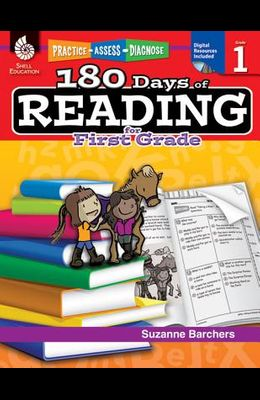 180 Days of Reading for First Grade: Practice, Assess, Diagnose [With CDROM]
