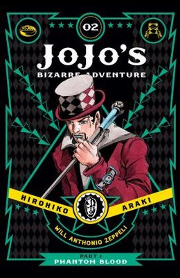 Jojo's Bizarre Adventure: Part 1--Phantom Blood, Vol. 2, Volume 2