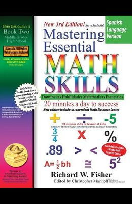 Mastering Essential Math Skills Book 2, Spanish Language Version