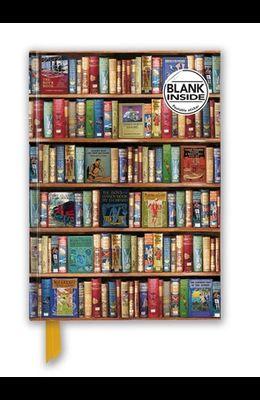 Bodleian Libraries: Hobbies & Pastimes Bookshelves (Foiled Blank Journal)