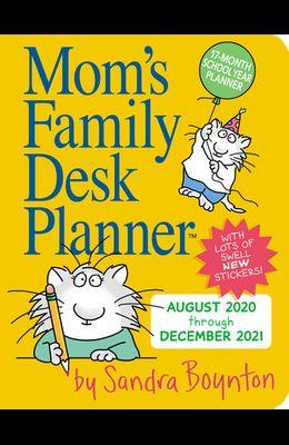 Mom's Family Desk Planner 2021