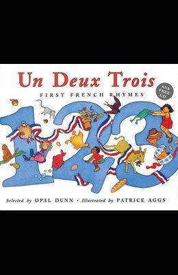 Un Deux Trois (Dual Language French/English) [With CD]