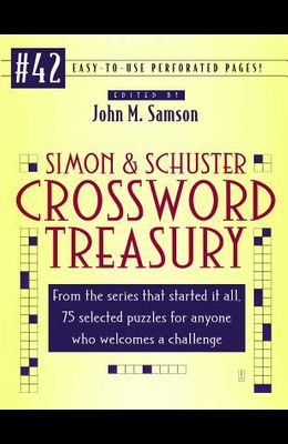 Simon and Schuster Crossword Treasury # 42