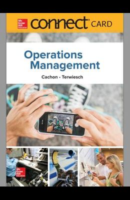 Connect 1-Semester Access Card for Operations Management, 1e