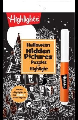 Halloween Hidden Pictures Puzzles to Highlight