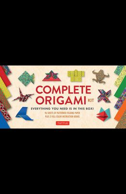 Complete Origami Kit: [Kit with 2 Origami How-To Books, 98 Papers, 30 Projects] This Easy Origami for Beginners Kit Is Great for Both Kids a