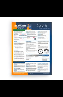 Pmp Exam: Quick Reference Guide, Sixth Edition Plus Agile