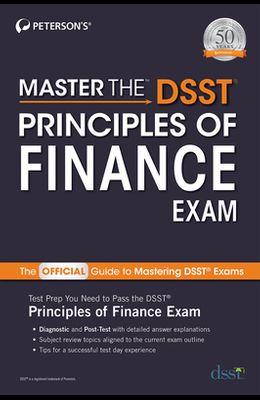 Master the Dsst Principles of Finance Exam