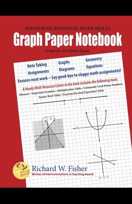 Graph Paper Notebook: Great for All Math Classes