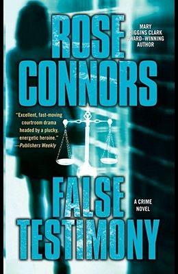 False Testimony: A Crime Novel