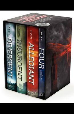 Divergent Series Four-Book Hardcover Gift Set: Divergent, Insurgent, Allegiant, Four