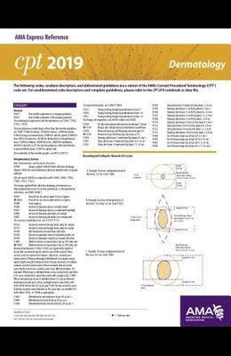 Erc-CPT 2019 Dermatology