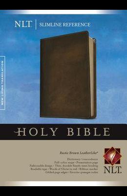 Slimline Reference Bible-NLT