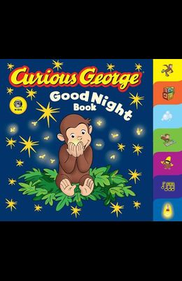 Curious George Good Night Book (Cgtv Tabbed Board Book)