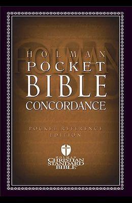 HCSB Pocket Bible Concordance
