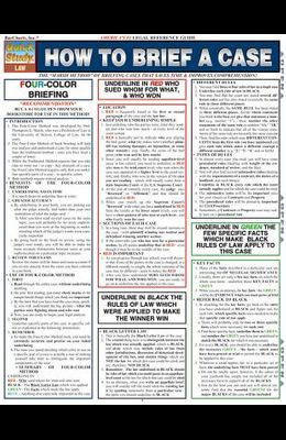 How to Brief a Case Laminated Reference Chart