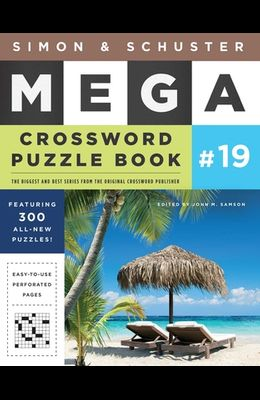 Simon & Schuster Mega Crossword Puzzle Book #19, Volume 19