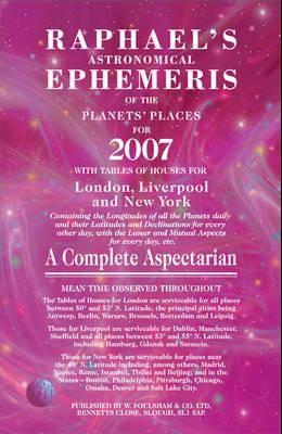 Raphael's Astronomical Ephemeris
