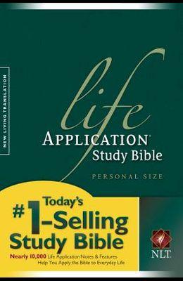 Life Application Study Bible-Nlt-Personal Size
