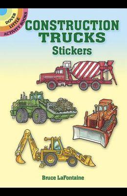 Construction Trucks Stickers